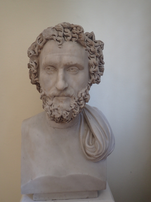 Aristotle Bust From British Museum in Athens